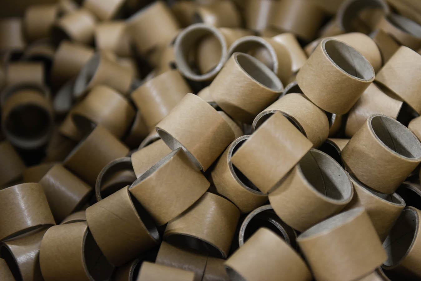 Cardboard rings